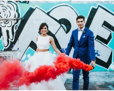 Veronica & Franck | Wynwood Walls  Maps Backlot, Miami